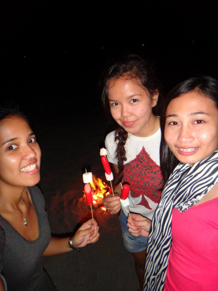 Bonfire, Iba, Zambales, November 2012